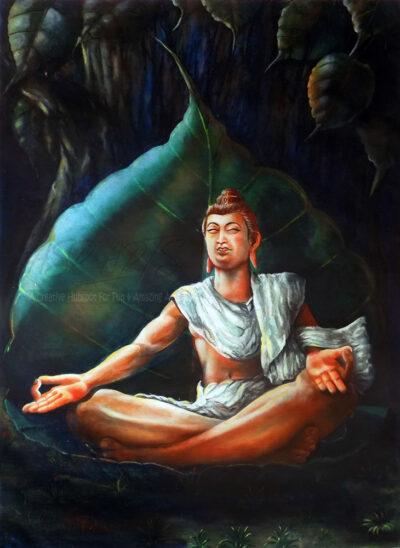 BUDDHA-MEDITATING-BODHI-TREE