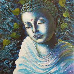 BLUE-BUDDHA-MEDITATE