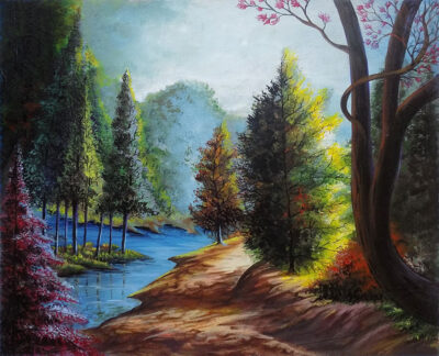 FOREST-RIVER-STREAM-ART