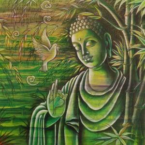 BUDDHA-BAMBOO-PAINTING