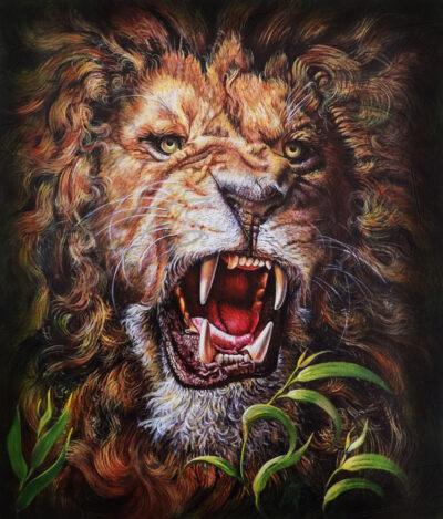 THE-LIONS-ROAR-ART